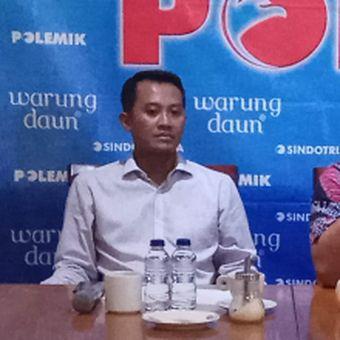 Kedua dari kiri: Sekretaris Jenderal (Sekjen) DPP Perindo Ahmad Rofiq dalam diskusi di bilangan Cikini, Jakarta Pusat, Sabtu (20/5/2017).