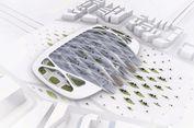 UNStudio Rancang Stasiun 'Hyperloop' di Eropa