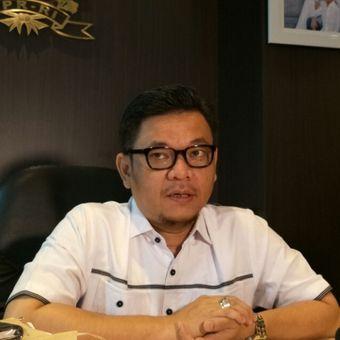 Juru bicara Tim Kampanye Nasional (TKN) Jokowi-Maruf, Ace Hasan Syadzily di Kompleks Parlemen, Jumat (15/2/2019).