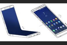 Beredar Penampakan Smartphone Tekuk Samsung Galaxy X
