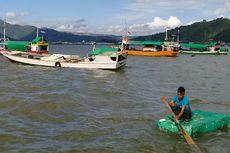 50 Kapal Nelayan Terdampar di Pantai Bima Akibat Gelombang Tinggi