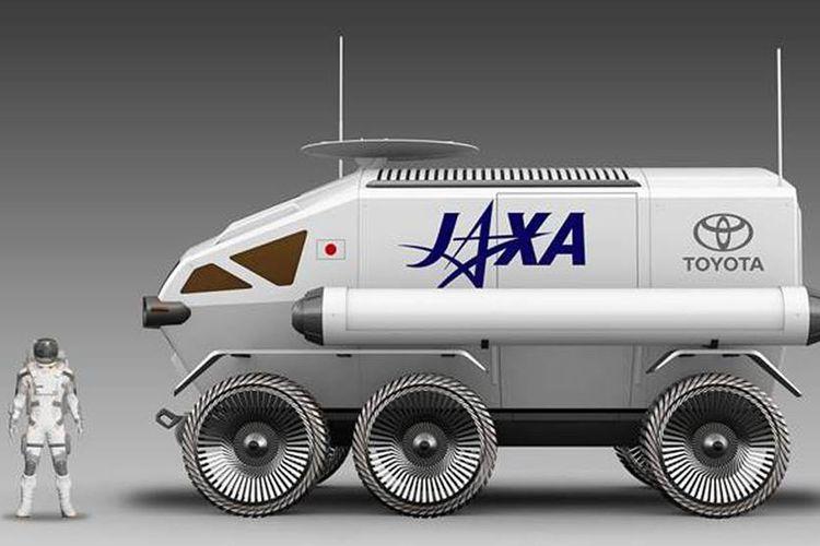 Toyota bekerja sama dengan JAXA berencana untuk membuat wahana antariksa penjelajah permukaan Bulan