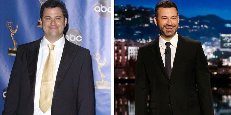 Presenter Jimmy Kimmel.