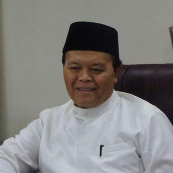 Wakil Ketua MPR RI Hidayat Nur Wahid di Kompleks Parlemen, Senayan, Jakarta, Kamis (27/7/2017).