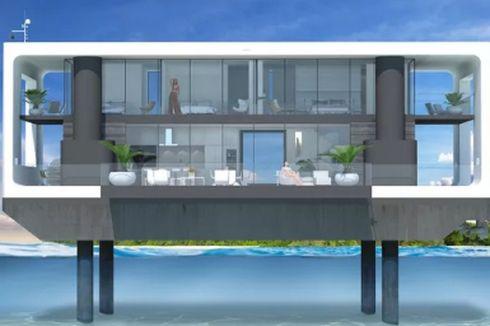 Desain Rumah Apung Ini Seperti Kapal Pesiar Mewah