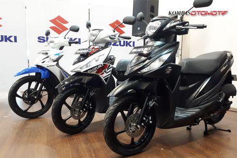 Ekspor Sepeda Motor Suzuki Tumbuh 180 Persen