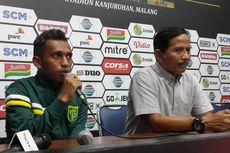 Irfan Jaya Kaget Jadi Pemain Muda Terbaik Piala Presiden