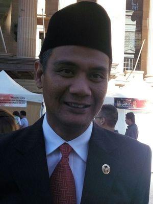 Wakil Duta Besar RI untuk Australia M.I. Derrt Aman