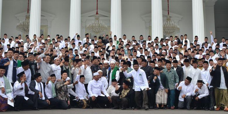 Jokowi Hormati Ulama