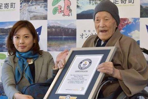 Kakek 112 Tahun Asal Jepang Dinobatkan Sebagai Manusia Tertua di Dunia