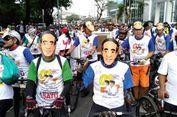 Pesan Antigolput pada Deklarasi Pesepeda Jakarta