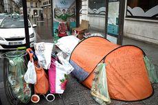 Sensus Tunawisma, Paris Catat Lebih dari 3.000 Warganya Hidup di Jalanan