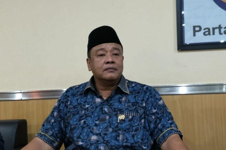 Ketua Fraksi Partai Nasdem DPRD DKI Jakarta Bestari Barus di gedung DPRD DKI Jakarta, Jalan Kebon Sirih, Jakarta Pusat, Kamis (27/9/2018).