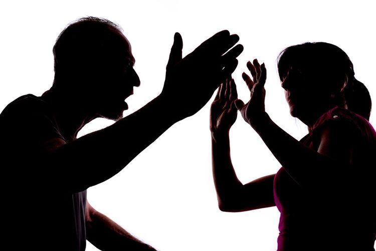 Ilustrasi kekerasa dalam rumah tangga.