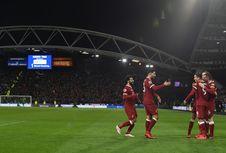 Peringkat Klub Perempat Finalis Liga Champions, Liverpool Terbawah