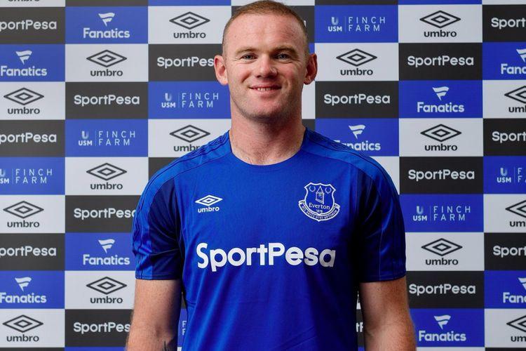 Setelah 13 tahun mengabdi di Manchester United, Wayne Rooney kembali ke Everton, Minggu (9/7/2017).
