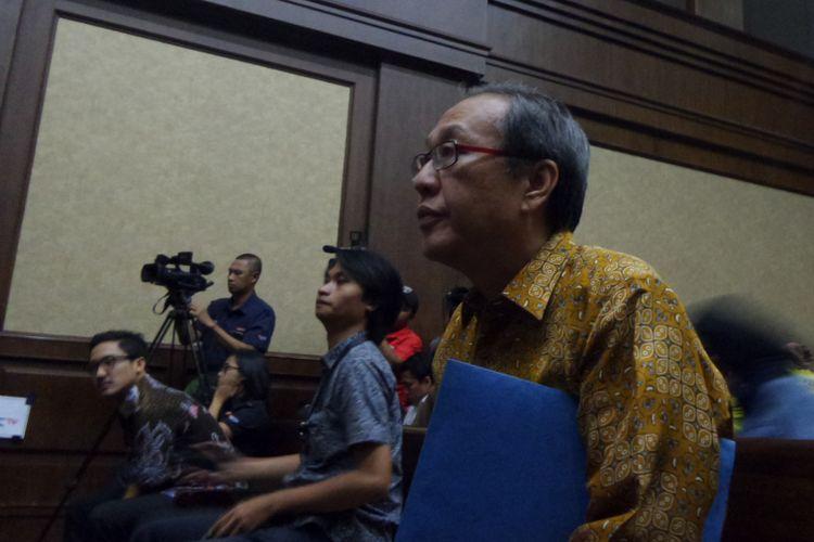 Made Oka Masagung saat bersaksi di Pengadilan Tipikor Jakarta, Senin (22/1/2018).