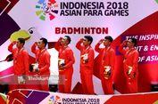 Tim Bulu Tangkis Beregu Putra Sumbangkan Emas Pertama untuk Indonesia