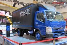 Berkenalan dengan E-Canter, Truk Listrik Mitsubishi Fuso