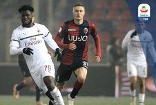 Hasil dan Klasemen Liga Italia, AC Milan Gagal Dekati Inter Milan