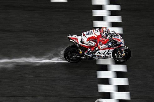 Marquez dan Dovizioso Tarung Sampai Titik Penghabisan