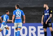 Juventus Vs Atalanta Seri, Inter Milan Kalah Telak dari Napoli