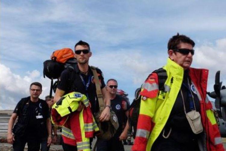 Relawan asing yang dipulangkan dari Palu karena keberadaannya dinilai tidak dibutuhkan lagi.