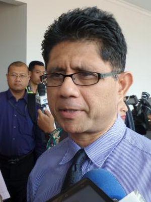 Wakil Ketua KPK Laode Muhammad Syarif di Pengadilan Tipikor Jakarta, Rabu (5/10/2016).