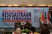 Ketika Pegiat Sastra Asia Tenggara Silaturahim di Jakarta...