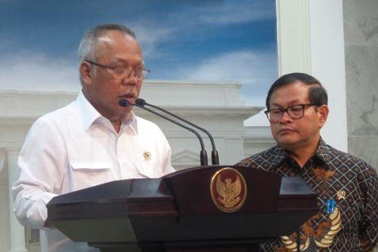 Menteri Pekerjaan Umum dan Perumahan Rakyat Basuki Hadimuljono.