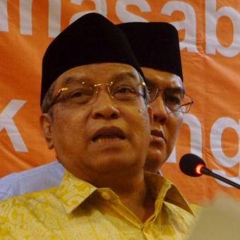 Ketua Umum Pengurus Besar Nahdatul Ulama (PBNU), Said Aqil Siroj saat merilis refleksi akhir tahun di Kantor PBNU, Jalan Kramat Raya, Jakarta Pusat, Jumat (30/12/2016)