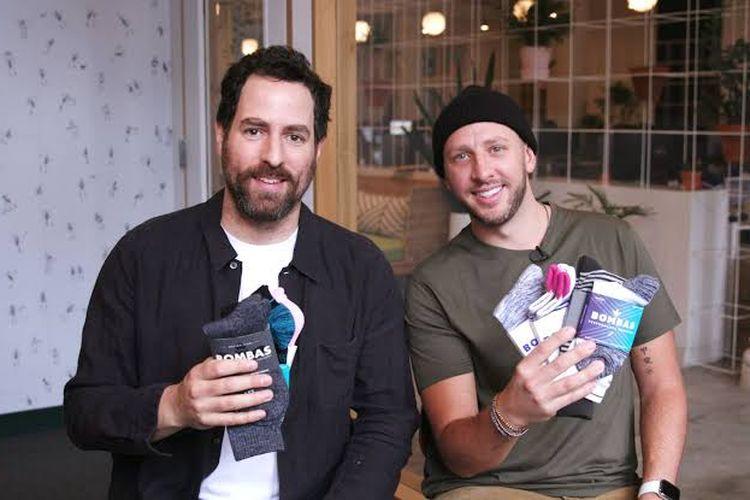 Para pendiri Bombas, startup kaus kaki