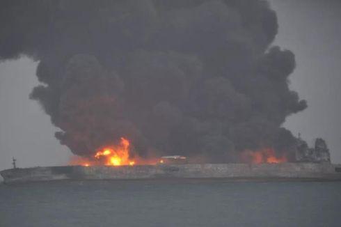 Setelah Tabrakan, Kapal Tanker Minyak Milik Iran Berpotensi Meledak