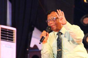 Mahfud MD Ogah Kembali Jadi Tim Sukses Prabowo pada Pilpres 2019