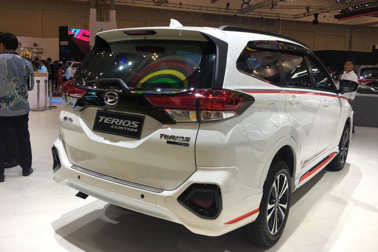 Daihatsu melepas varian baru Terios Custom di GIIAS 2018.