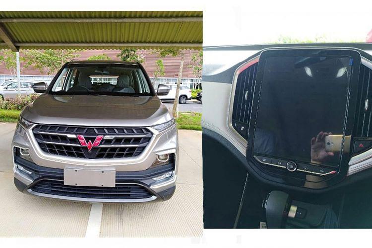 SUV terbaru dari Wuling memperlihatkan diri secara utuh di media sosial
