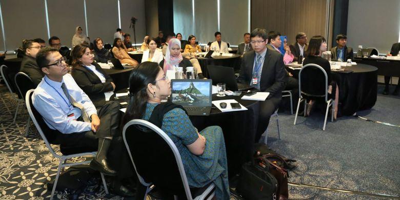 Sebanyak 25 orang delegasi dari 13 negara anggota Association Productivity Organization (APO) membahas efek teknologi pada produktivitas sektor kesehatan di Training Course on Smart Service and Technology for Health Sector di Jakarta, Senin (22/4/2019).
