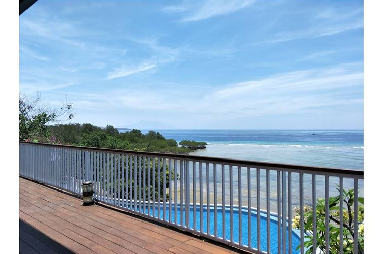 Pemandangan dari The Octagon Plataran Menjangan Resort & Spa
