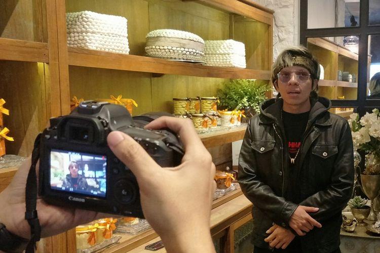 Youtuber sekaligus pengusaha Atta Halilintar di Jakarta, Jumat (2/2/2019)