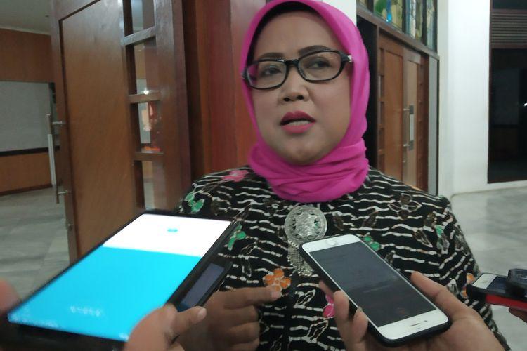 Ade Yasin saat menghadiri pelantikan Pengurus KAHMI Bogor di Cibinong, Minggu (13/5/2019) malam.