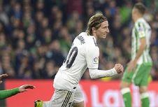 Real Betis Vs Real Madrid, Modric dan Ceballos Bawa Madrid Raih 3 Poin