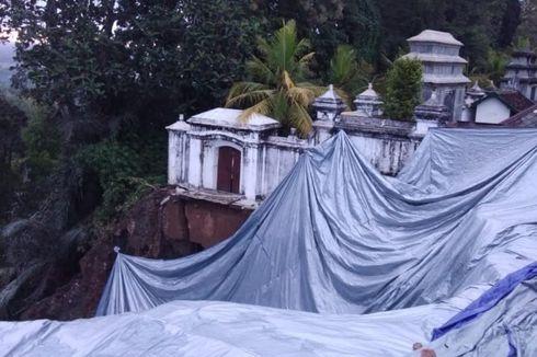 Antisipasi Longsor, Terpal di Makam Raja Imogiri Selesai Dipasang