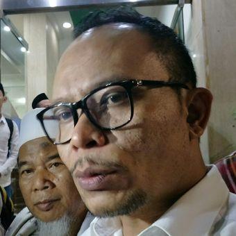 Menteri Ketenagakerjaan Hanif Dhakiri ketika ditemui di Kantor DPP PKB, Jakarta, Selasa malam (20/3/2018).