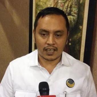 Wakil Sekretaris Jenderal Partai Nasdem Willy Aditya, saat ditemui di Menteng, Jakarta Pusat, Kamis (19/11/2015).