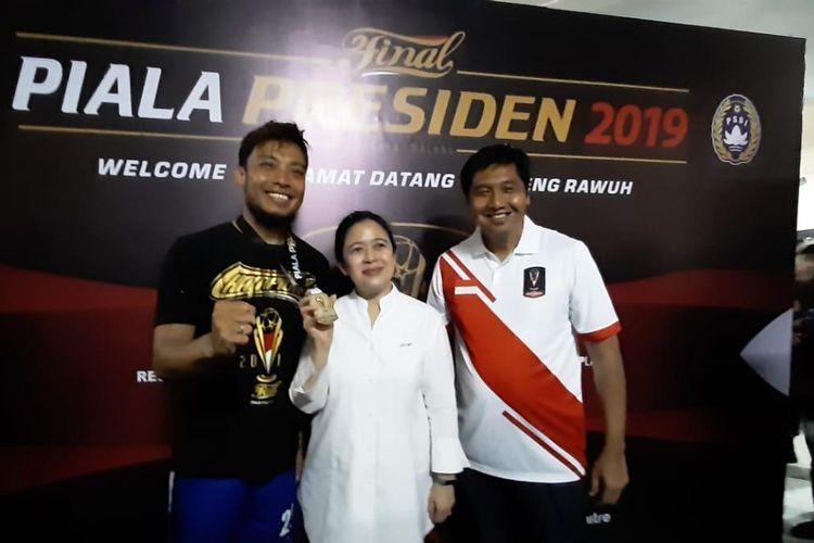Ketua Steering Committee (SC) Piala Presiden 2019 Maruarar Sirait (kanan).