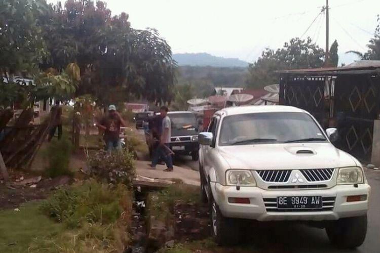 Situasi bentrok di Empat Lawang, akibat dua kubu timses Paslon saling serang