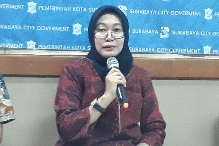 Kepala Bagian Administrasi Kerjasama Pemkot Surabaya Dewi Wahyu Wardani