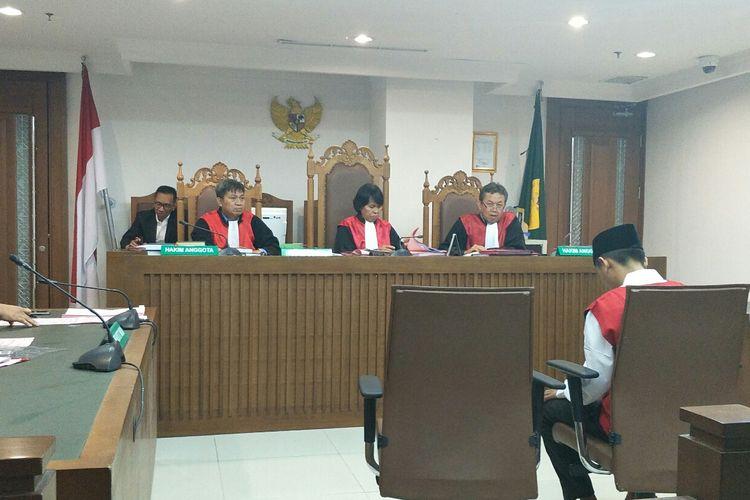Sidang kasus kerusuhan 21-22 Mei di Pengadilan Negeri Jakarta Pusat, Kamis (15/8/2019).