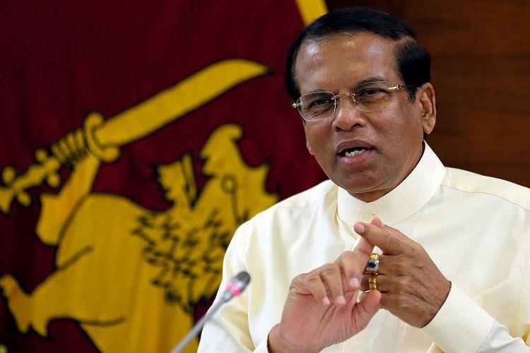 Presiden Sri Lanka, Maithripala Sirisena.