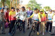 Menpora Lepas Gowes Nusantara Etape Barito Kuala